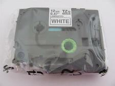 "GENUINE BROTHER P-TOUCH TZ-231 TZe-231 LABEL TAPE BLACK INK 1/2"" 12mm 26.2 ft"