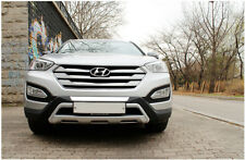Auxiliary Front Bumper Diffuser Moulding For 2013~2015+ Hyundai Santa Fe Sport