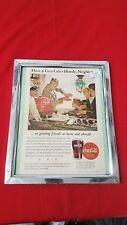 Vintage Coca Cola Soda Pop Coke Picture 1944
