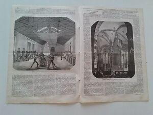 1866 El Museo Universal, Madrid, Departamento de Acuñacion; Firenze Tabernacolo