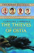 The Thieves of Ostia: The Roman Mysteries Book 1 (Unabridged on 4 CDs)-ExLibrary
