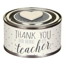 East of India Thank You Teacher Scented Candle - Teacher gift - End of Term gift