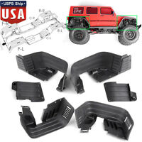 Front / Rear Inner Fender Wells / Mudguard for Axial SCX10 II AX90046 AX90047 US