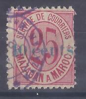 Colonies françaises - Maroc - Poste Locales n° 45B oblitéré