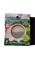 Physicians Formula Organic Wear Eye Shadow 2395 Green Eyes, Open box never used