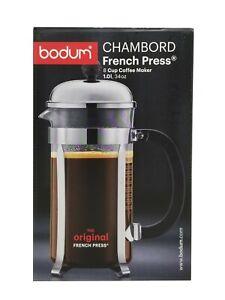 Bodum Chambord the Original French Press 8 Cup Coffee Maker 34 OZ