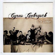 (FY959) Cyrus Gabrysch & The Zizaniques, Walk Up That Hill - 2008 DJ CD