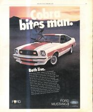 """(RST15) ADVERT 13X11"""" THE FORD MUSTANG MARK II"""