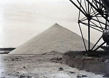 SETE c. 1935 - Salines Négatif Verre - V9 329