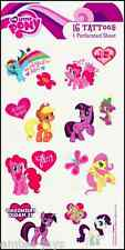 My Little Pony Tattoos Sheet - My Little Pony Birthday Party - Favours Loot Bag