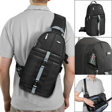 Camera Sling Backpack Bag Case for DSLR Canon Nikon Sony Fuji by Altura Photo®