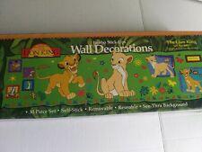 Vintage Lion King Priss Prints Jumbo Stick-Ups Wall Decorations New