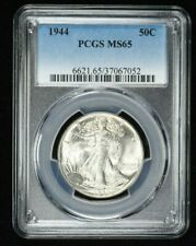 1944 PCGS MS65 50C Walking Liberty Half Dollar 99c NO RESERVE  Witter Coin