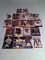 Valeri Bure:  Lot of 160 cards.....50 DIFFERENT / Hockey