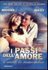 I PASSI DELL'AMORE (A WALK TO REMEMBER) - DVD PRIMA EDIZIONE ITALIANA, RARO!