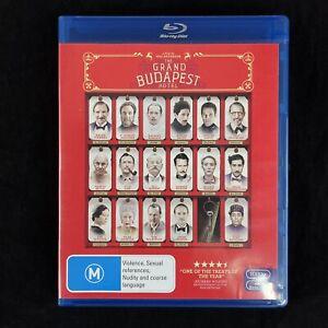 The Grand Budapest Hotel Blu-ray DVD Region B PAL