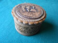 """Collectible Mini TRINKET BOX """"Sailboat"""" design Inside and Out-..FREE POSTAGE USA"""