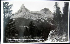Billings Montana ~ 1900's Red Lodge Highway To Yellowstone Park~ Kfr Rppc