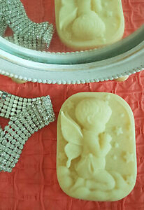 Solid Lotion Bar with Beeswax Shea & Cocoa Butter Cracked Heels Dry Skin