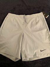 "NWT Nike Gladiator Printed 9"" Tennis Shorts 658060-411 Federer Nadal  Men XL"