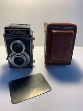 Mamiyaflex II 120 Film TLR Camera w/ Setagaya Sekor 7.5cm. F3.5 Lens Not Tested