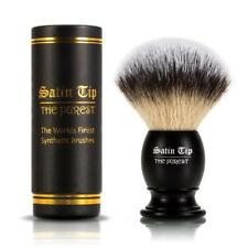 Satin Tip - The Purest - Metal Handle Luxury Synthetic Shaving Brush with Case