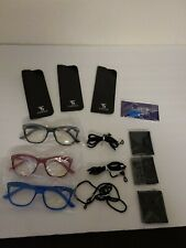 3 Suertree Spring Hinge Womens Reading Glasses +3.00 62mm With accessories