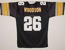 Vintage 90s STEELERS #26 Rod Woodson REEBOK Replica JERSEY NWT New Old Stock NOS