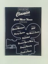 POP GO THE CLASSICS VOLUME 2: GREAT MOVIE THEMES FOR PIANO BY MATTHEW OXFORD