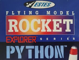 Estes flying model rocket kit Explorer Series Python 2129 vintage new great cond