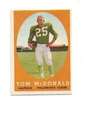 1958 Topps Tommy McDonald #126 excellent-near mint