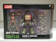 Gamestop Tmnt Vs Batman Exclusive Robin & Raphael Ninja Turtle Figure Set New🔥