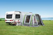 Vorzelt Wohnwagen aufblasbar dwt Garda Air 340x300cm grau Outdoor Camping Zelt