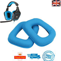 x2 Replacement Ear Pads BLUE For Logitech G430 G930 G35 F540 Foam Cushion Cups