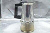 Vintage Fracanzan Stove Top Espresso Coffee Maker Made in Italy 18/10 Inox
