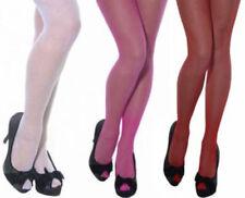 Medias y pantis de mujer de rejilla multicolores