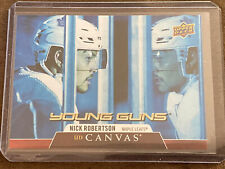 New listing 2020-21 UD SERIES 1 YOUNG GUNS  Nick Robertson UD canvas