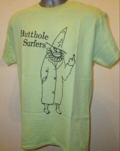 Butthole Surfers Clown T Shirt Rock Music Husker Du Fugazi Big Black Primus T303