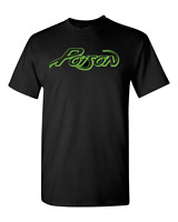 POISON Logo Metal Glam Rock Band Legend Men's Black T-Shirt New Size S-3XL
