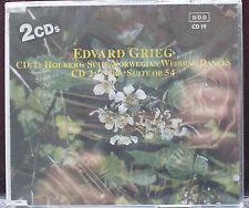 Grieg Holberg Suite Norwegian+Symphonic Dances Sibelius Concerto 2CD Set Germany