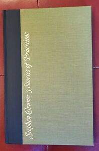 Three Stories of Peacetime by Stephen Crane, First Edition 1965