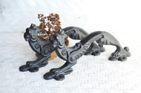 Vintage Figure Door Handle, Animal Shape Handle, Gate Lion Handles, Door Hardwar