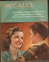 OCT 1939 vintage MCCALLS womens magazine - GREAT ADS