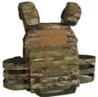 Plate Carrier MultiCam w/ soft body armor inserts IIIA, MKII Gr2 new