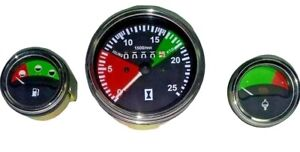 1877719M92 Massey ferguson Tractor Oil Pressure,water Temp,Tachometer Set