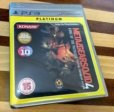 Metal Gear Solid 4 PS3 Playstation 3 Completo