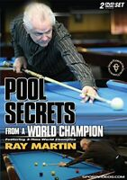 Pool Secrets from a World Champion Two DVD Set - Billiards Lessons from Ray M...