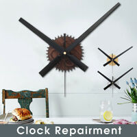 Large Silent Quartz DIY Wall Clock Movement Hands Mechanism Repair Parts Tool !