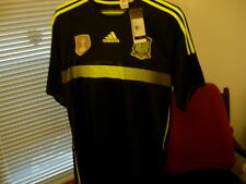 Adidas Spain Soccer Shirt. Mens L, 2010 World Cup