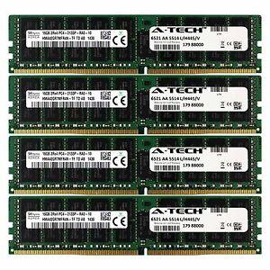 DDR4 2133MHz Hynix 64GB Kit 4x 16GB Lenovo ThinkServer TD350 Memory RAM